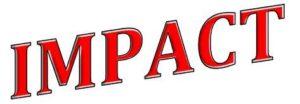Impact Text Logo