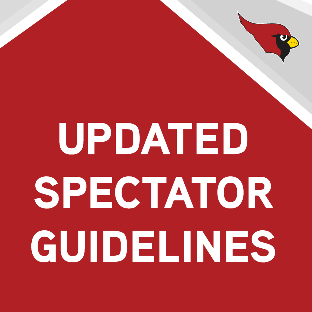 Updated spectator guidelines