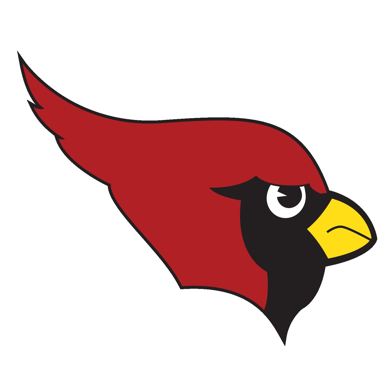 MCSD Cardinal Head Logo- Red